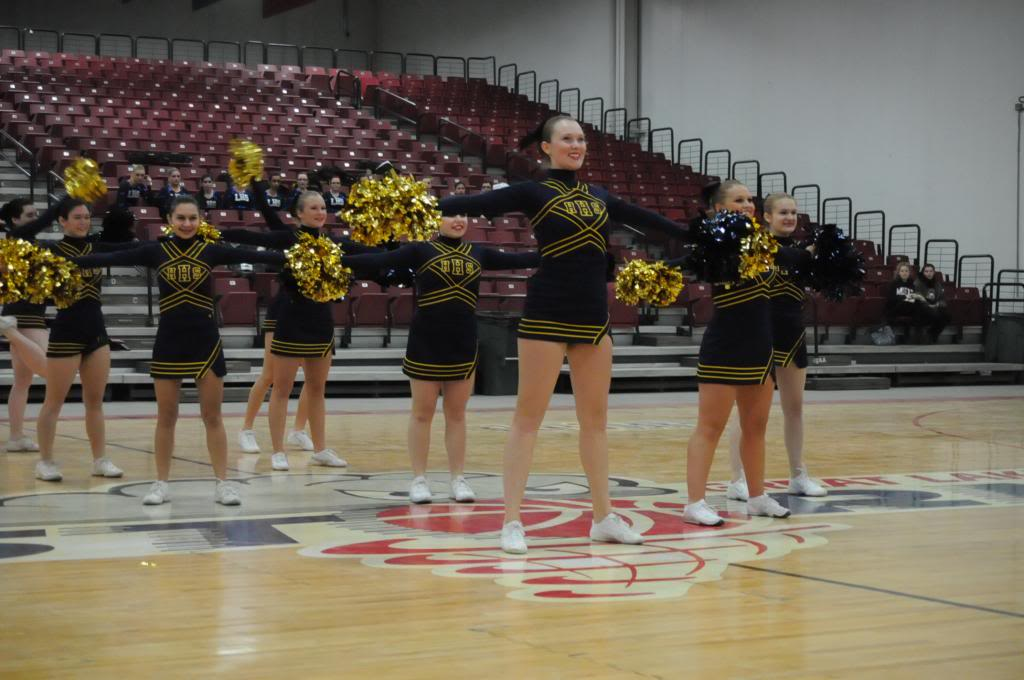 Hartland High School Pom Team Brings Home Two State Titles