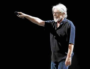 Bob Seger, pictured on stage in March at the Palace of Auburn Hills. ¬ Photo by Ken Settle
